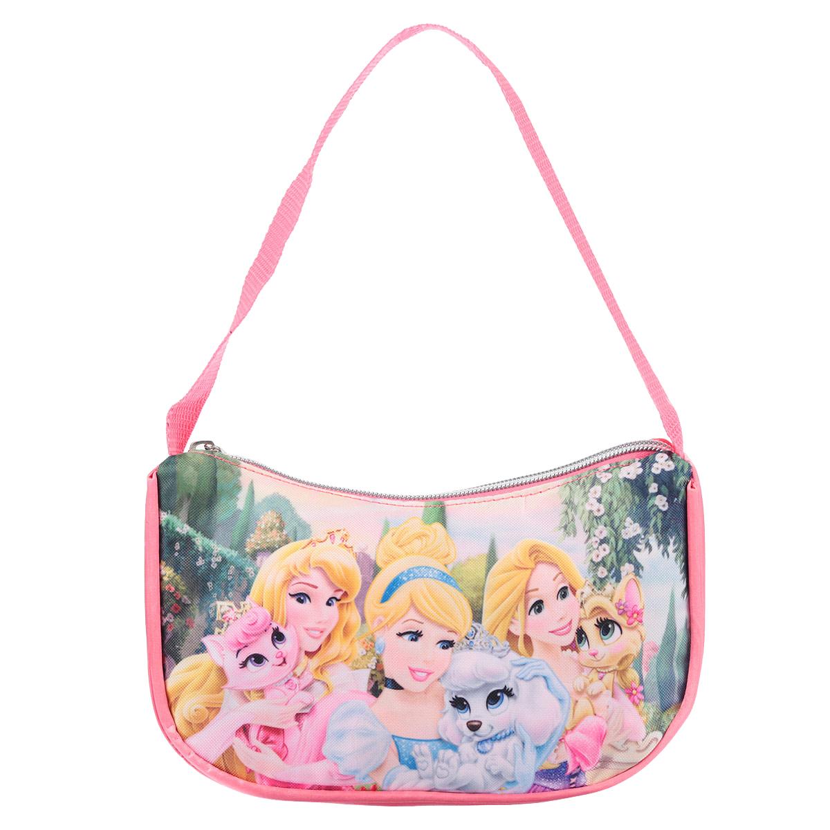 Сумочка детская Princess, цвет: розовый. PRCB-UT4-4018 сумочка princess цвет розовый prcb ut4 4017