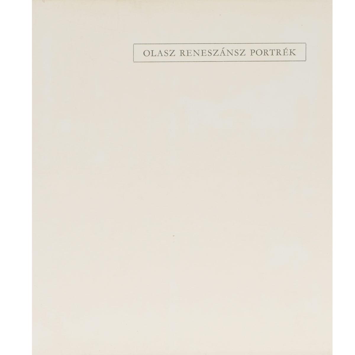 Klara Garas Olasz reneszansz portrek цены