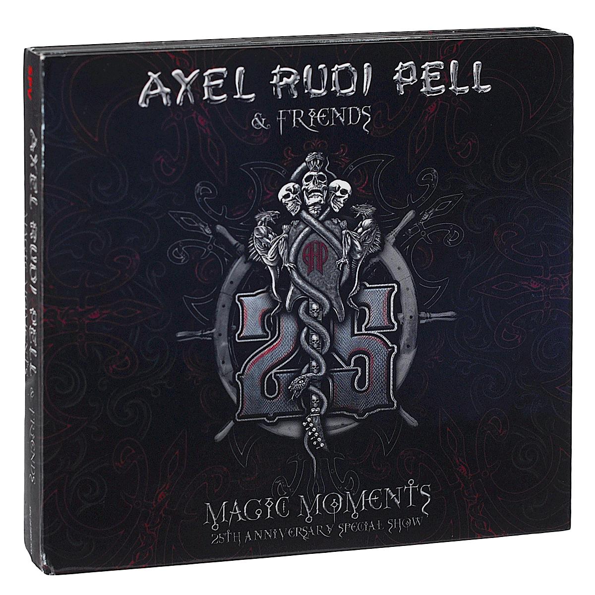цена Аксель Руди Пелл Axel Rudi Pell & Friends. Magic Moments. 25Th Anniversary Special Show (3 CD) онлайн в 2017 году