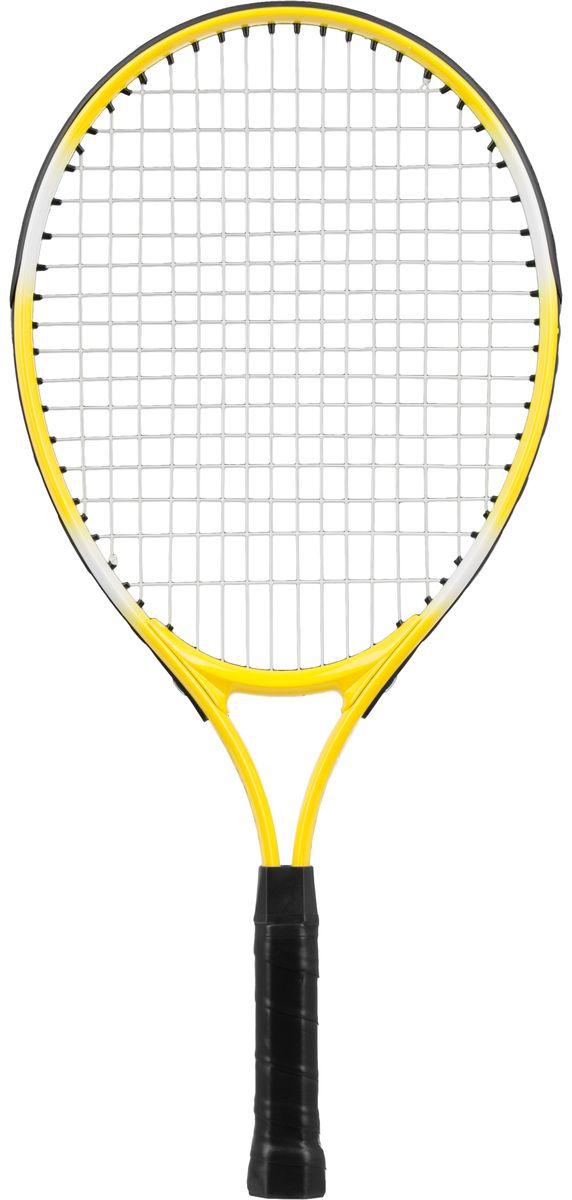 Ракетка для тенниса Torneo Kids, цвет: желтый, 54 см