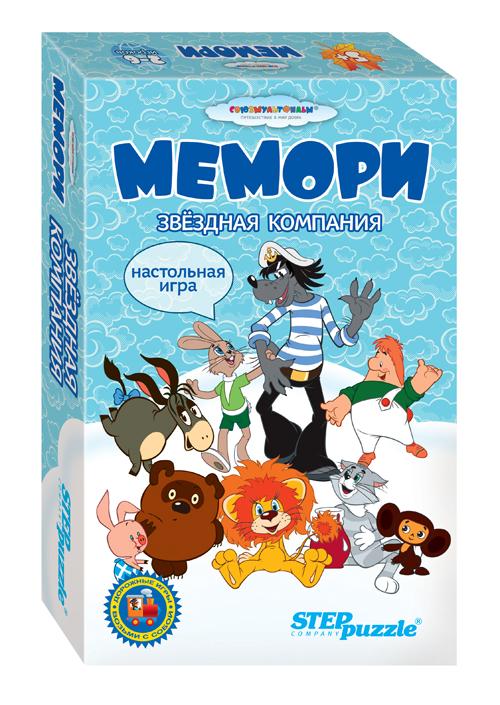Step Puzzle Обучающая игра Мемори Звездная компания step puzzle обучающая игра азбука