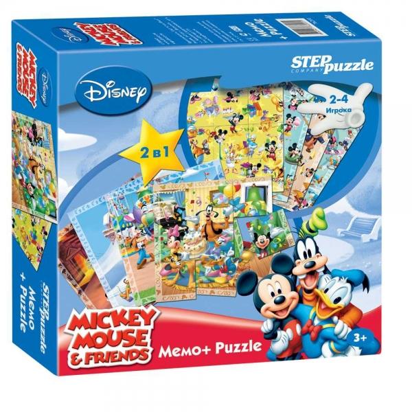 Step Puzzle Пазл для малышей Микки Маус 76201 step puzzle пазл для малышей тачки 89122
