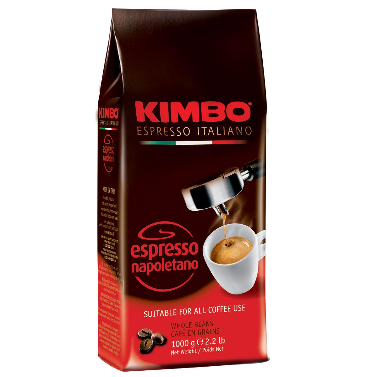 цена на Kimbo Espresso Napoletano кофе в зернах, 1 кг