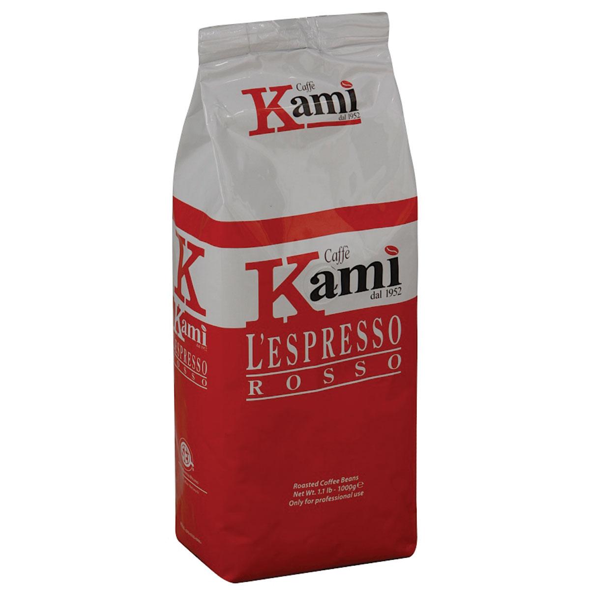 Kami Rosso кофе в зернах, 1 кг стоимость