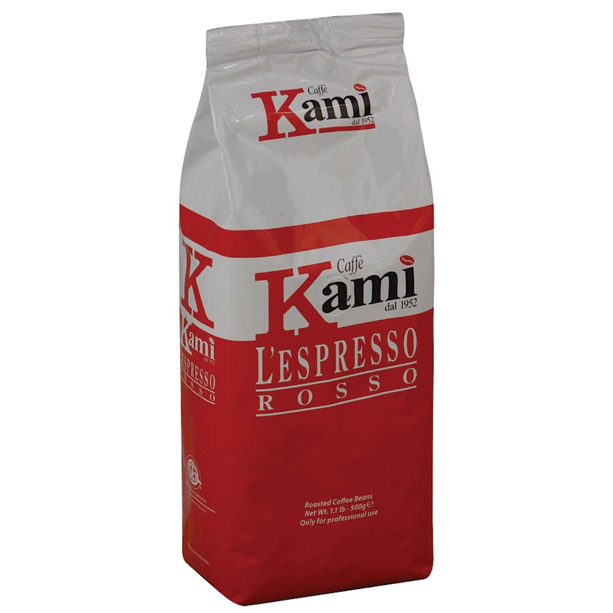 Kami Rosso кофе в зернах, 500 г стоимость