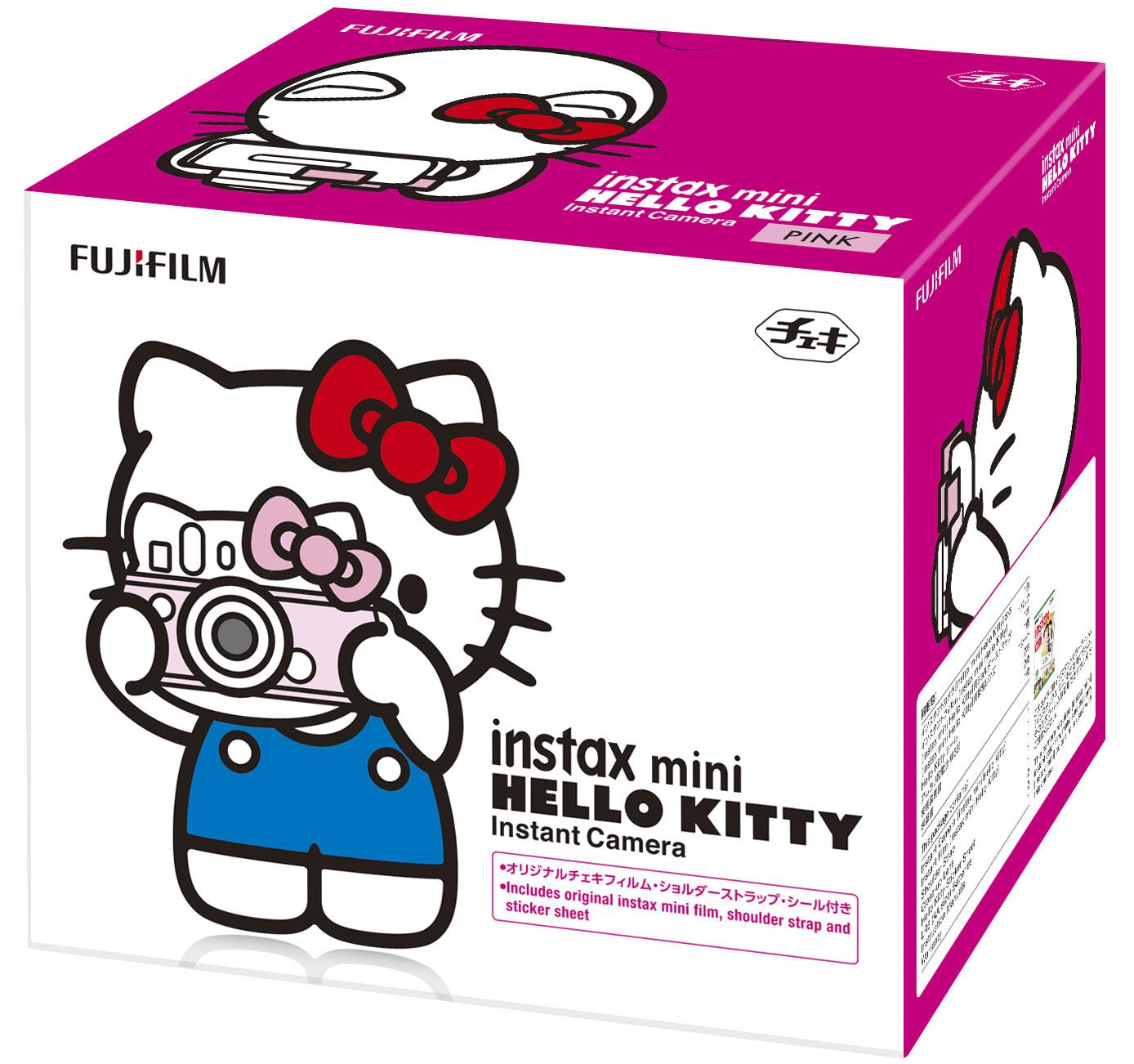 Набор Instax Mini Set Hello Kitty, Pink Fujifilm