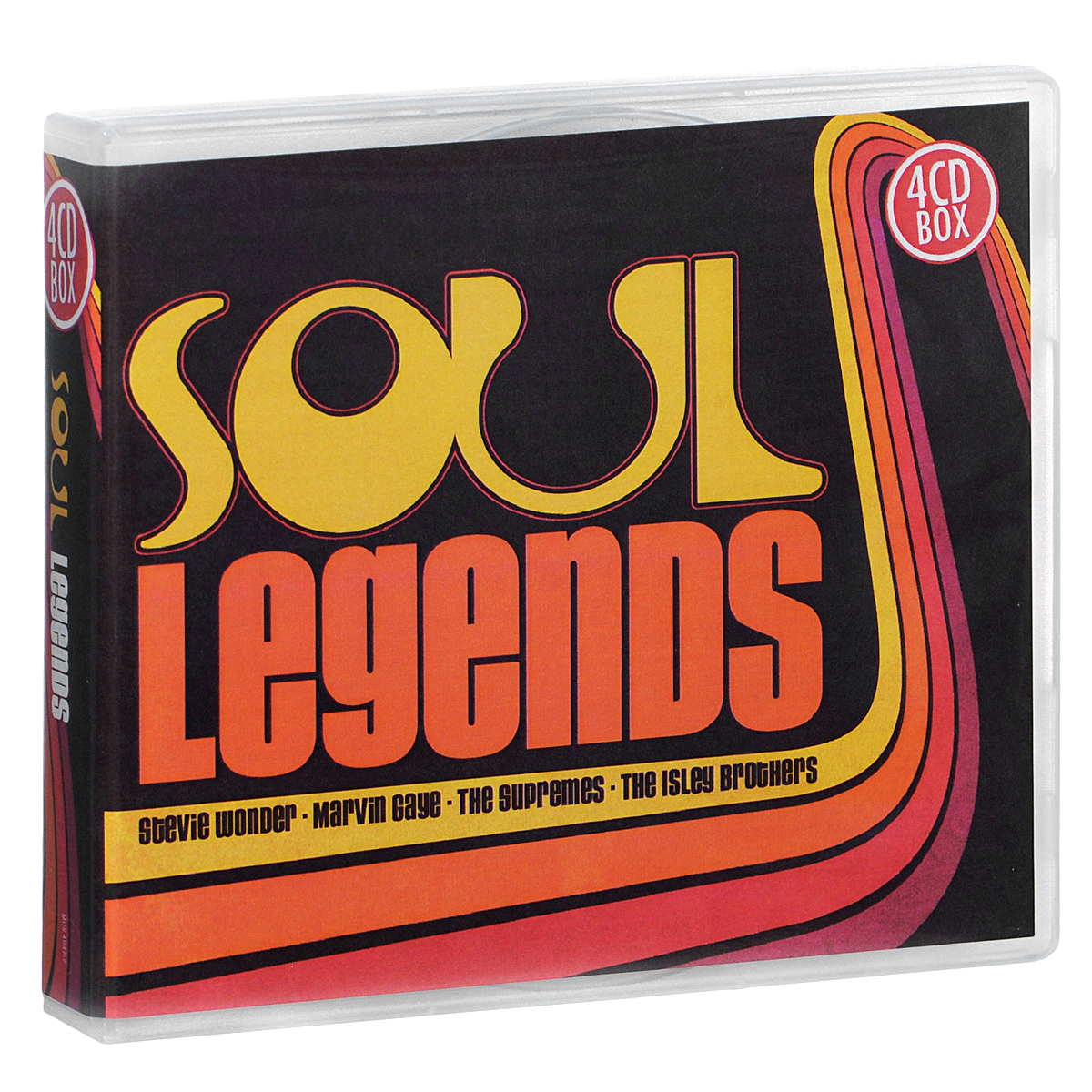 Фото - Стиви Уандер,Марвин Гэй,The Supremes,The Isley Brothers Soul Legends (4 CD) смоки робинсон the miracles soul legends smokey robinson