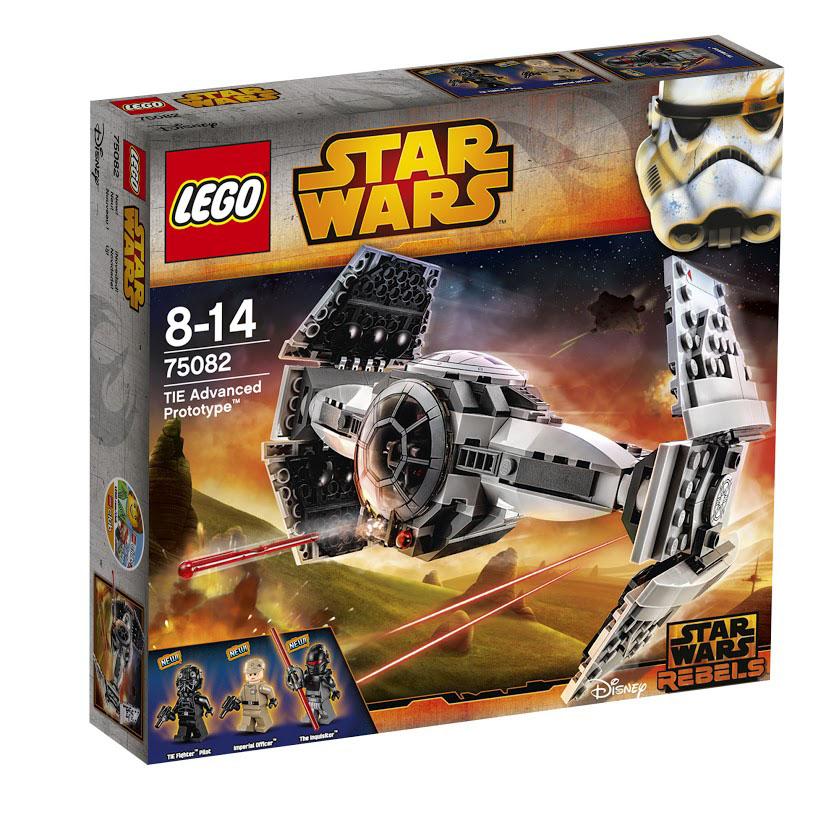 LEGO Star Wars Конструктор Улучшенный Прототип TIE Истребителя 75082