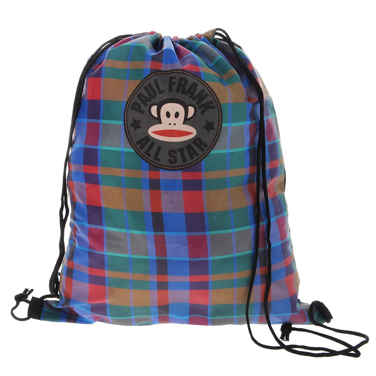 Paul Frank Сумка-рюкзак для обуви цвет коричнево-красный PFCB-UT1-883 сумка paul frank