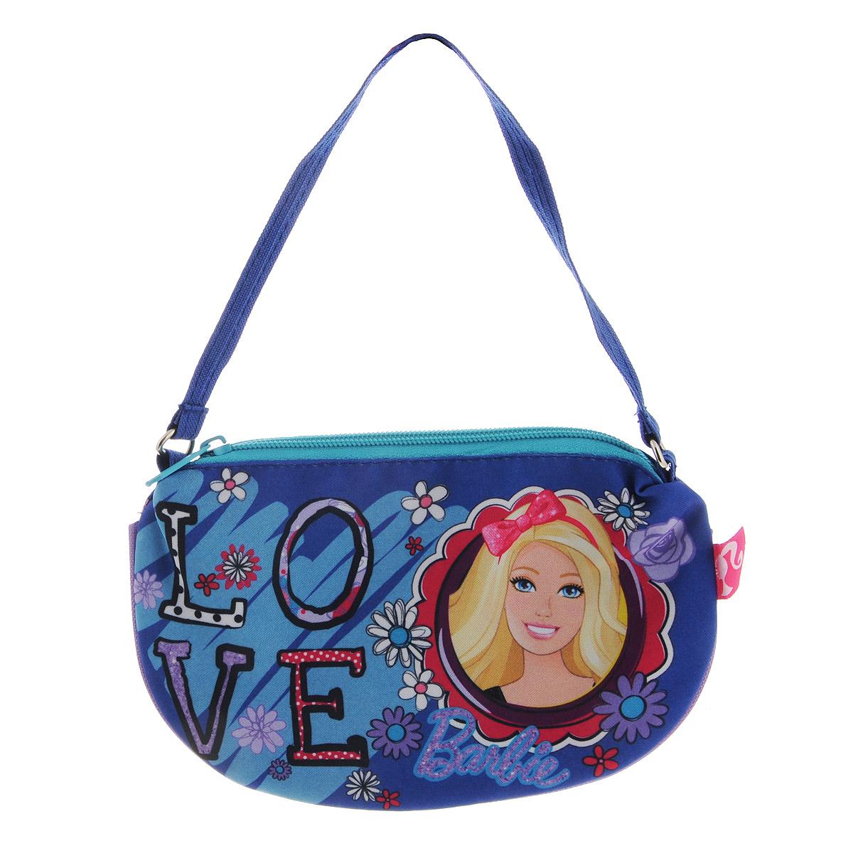 Сумочка Barbie, цвет: синий. BRCB-UT4-4017 сумочка princess цвет розовый prcb ut4 4017
