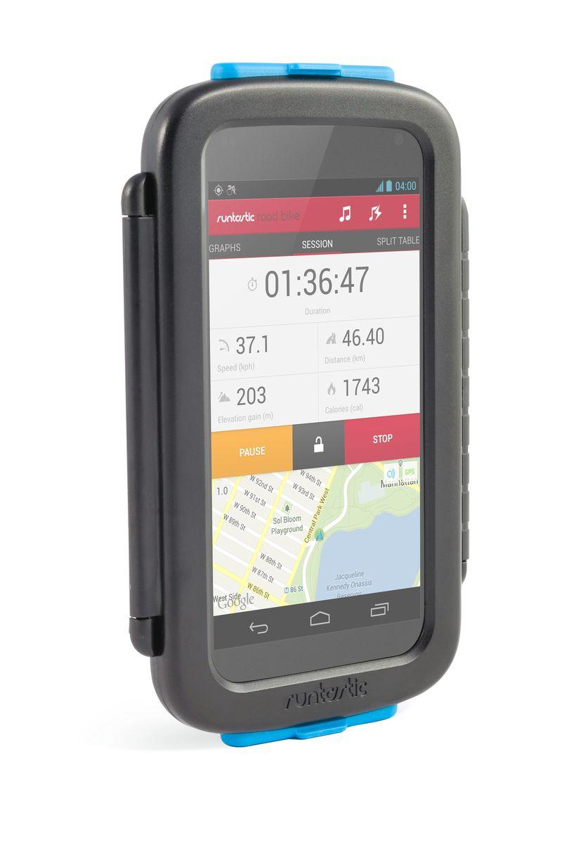 Крепление велосипедное для смартфонов Runtastic, цвет: черный