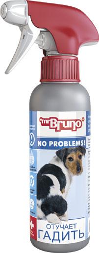 Спрей зоогигиенический для собак Mr. Bruno Отучает гадить, 200 мл mr bruno mr bruno спрей для собак отучает гадить