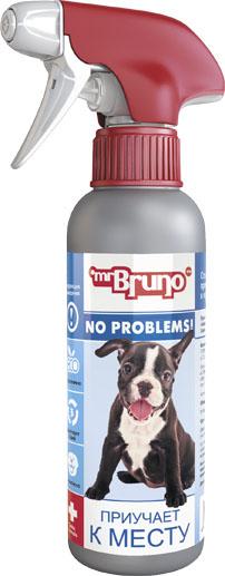 Спрей зоогигиенический для собак Mr. Bruno Приучает к месту, 200 мл