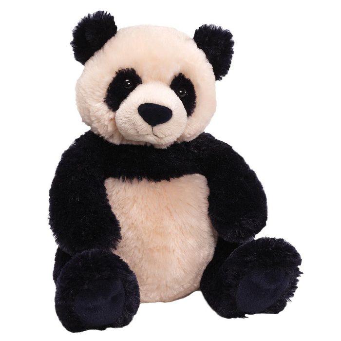"""Игрушка мягкая Gund """"Zi Bo Panda"""", цвет: черный, бежевый, 29 см. 320707"""