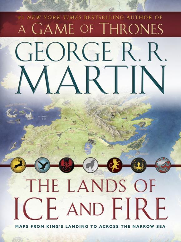 Lands of Ice and Fire: Maps from Kings Landing to Across the Narrow Sea (A Game of Thrones) felix j palma the map of time and the turn of the screw