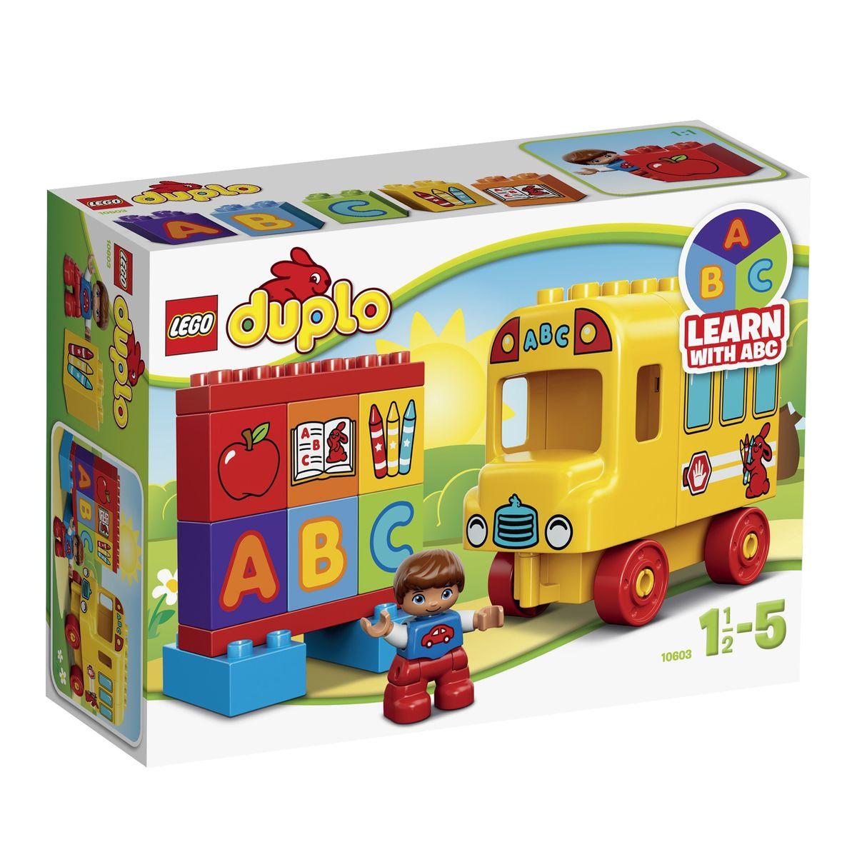 LEGO DUPLO Конструктор Мой первый автобус 10603