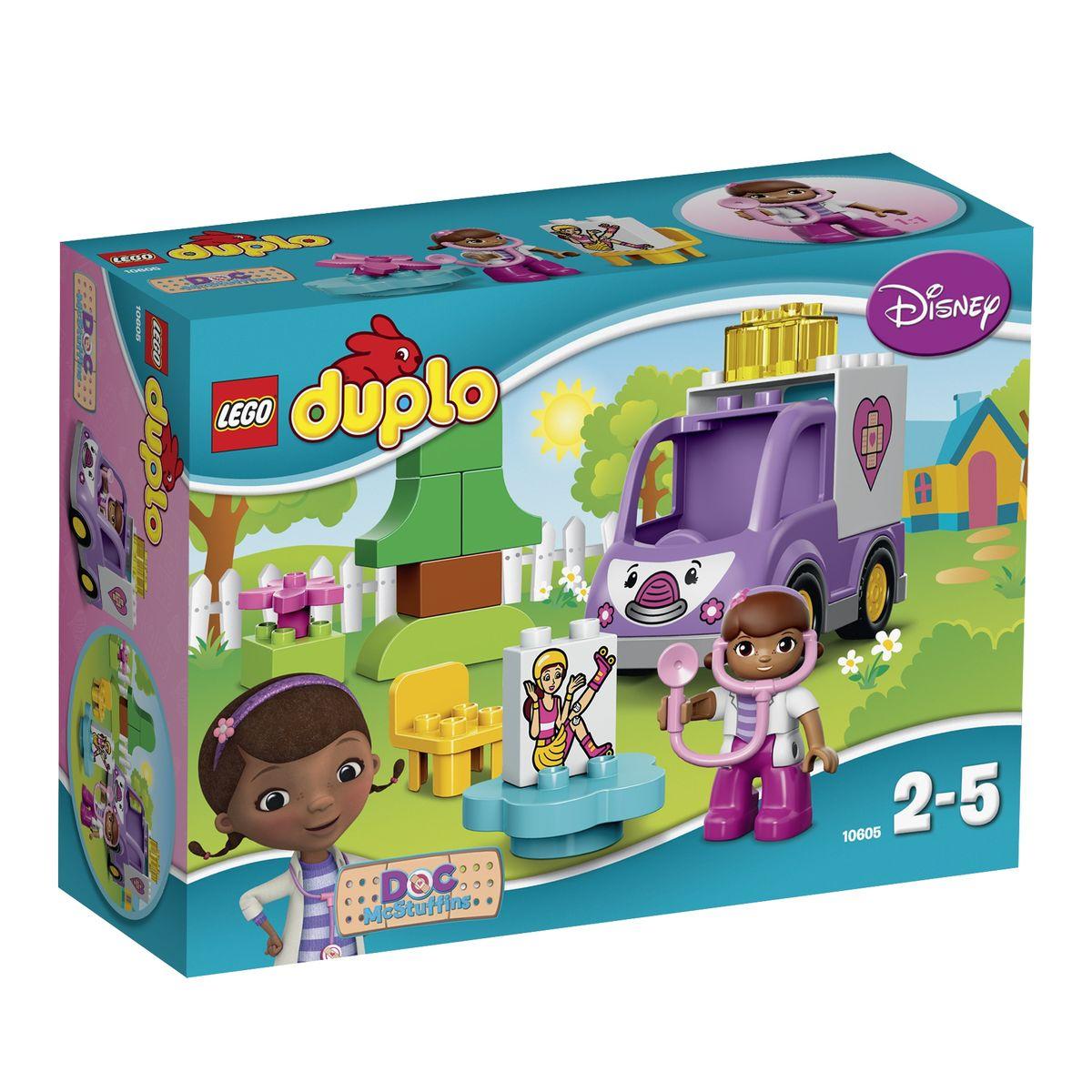 Lego duplo конструктор скорая помощь