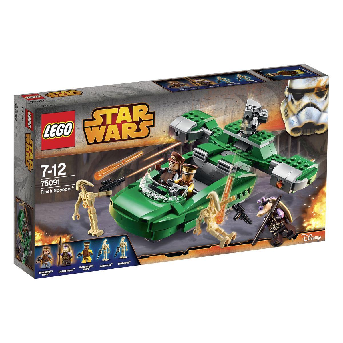 LEGO Star Wars Конструктор Флэш спидер 75091