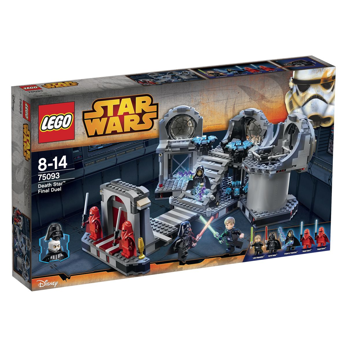 LEGO Star Wars Конструктор Звезда Смерти Последняя схватка 75093