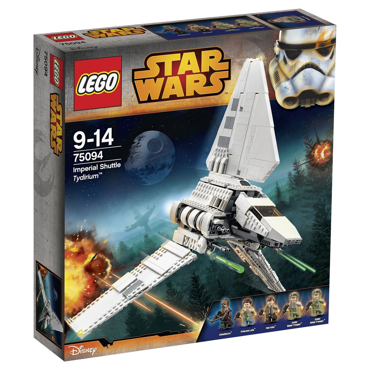 LEGO Star Wars Конструктор Имперский шаттл Тайдириум 75094