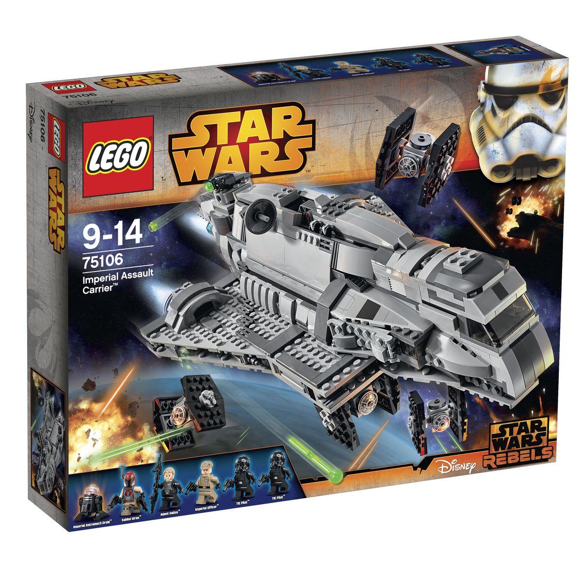 LEGO Star Wars Конструктор Имперский десантный корабль 75106