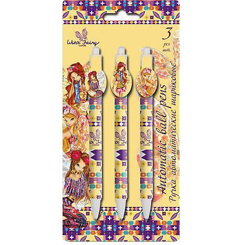 Набор из 3-х шариковых ручек Winx Fairy Couture fairy girls 3
