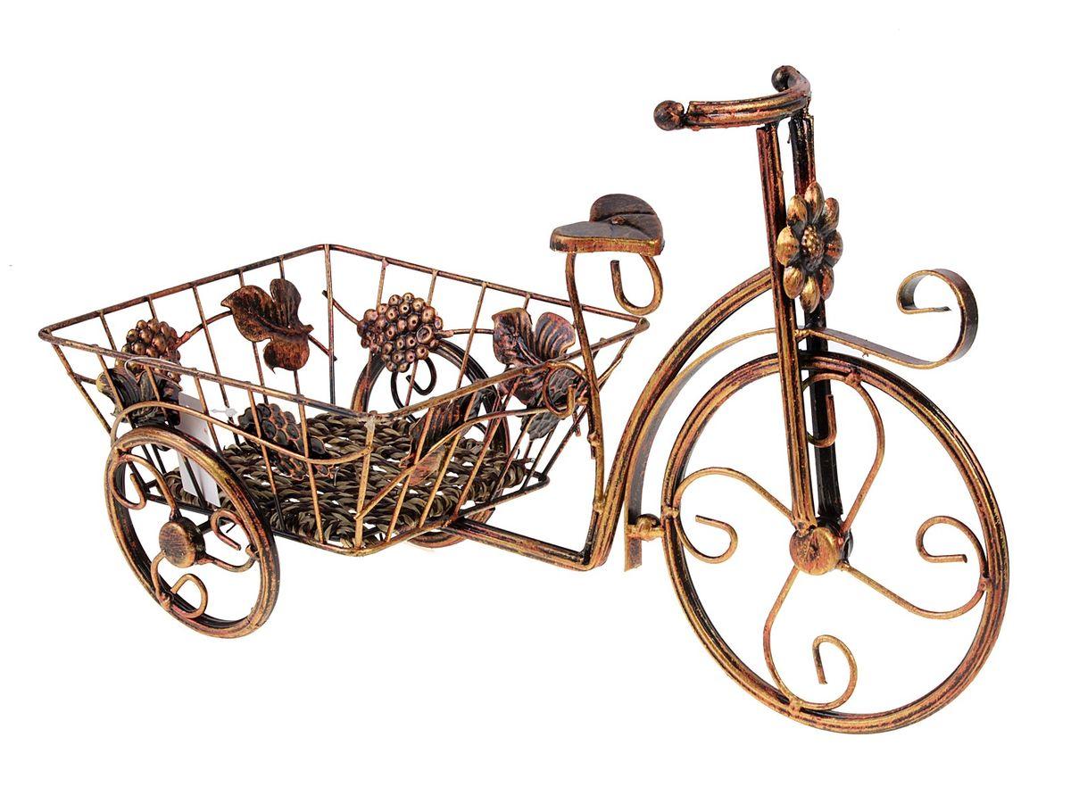Кашпо Велосипед, 42 х 26 см green garden кашпо teak s