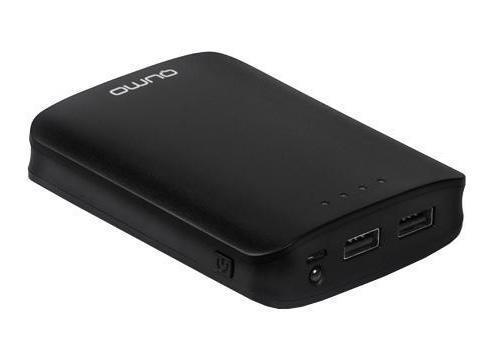 Qumo PowerAid 10400 внешний аккумулятор цена и фото