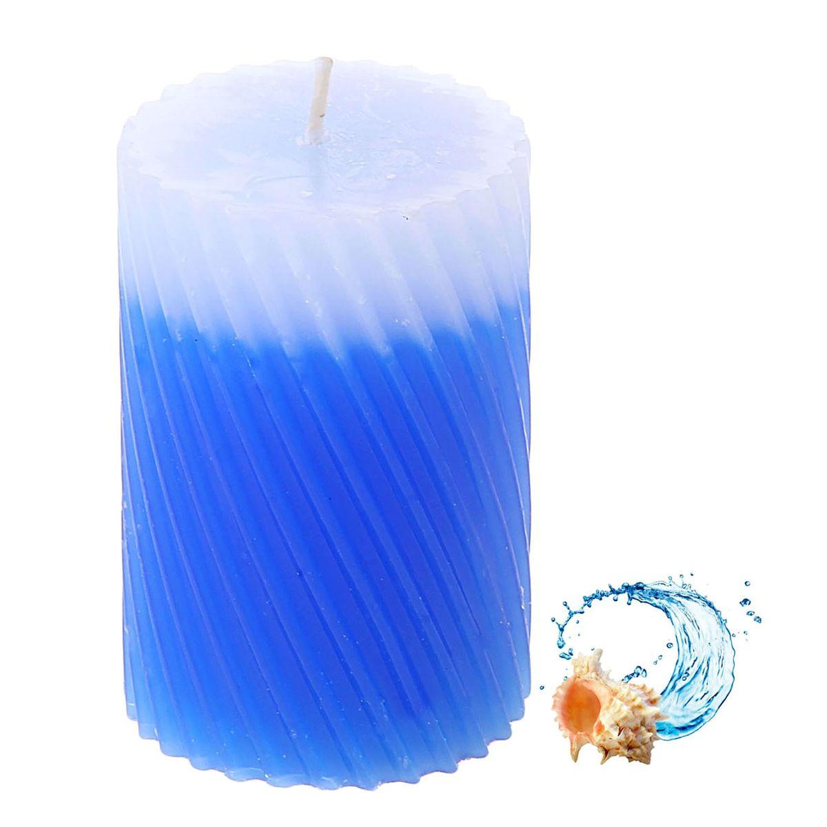 Свеча ароматизированная Sima-land Океан, высота 7,5 см. 849548