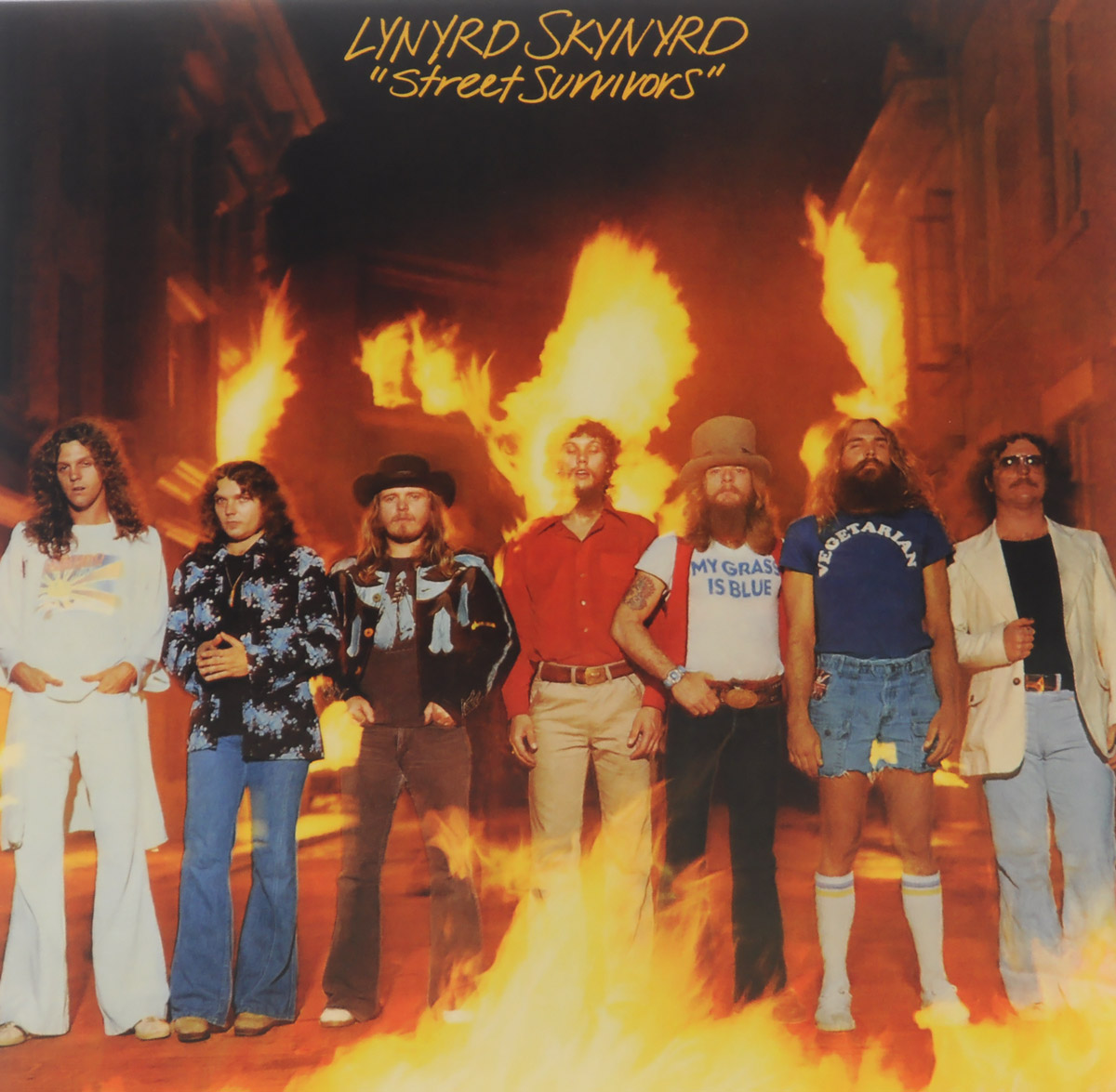 Lynyrd Skynyrd Lynyrd Skynyrd. Street Survivors (LP) lynyrd skynyrd lynyrd skynyrd one more from the road 2 lp