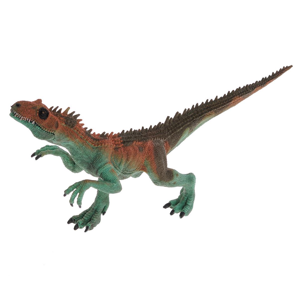 цена на Фигурка Megasaurs Заурофагнакс с двигающейся пастью, цвет: зеленый