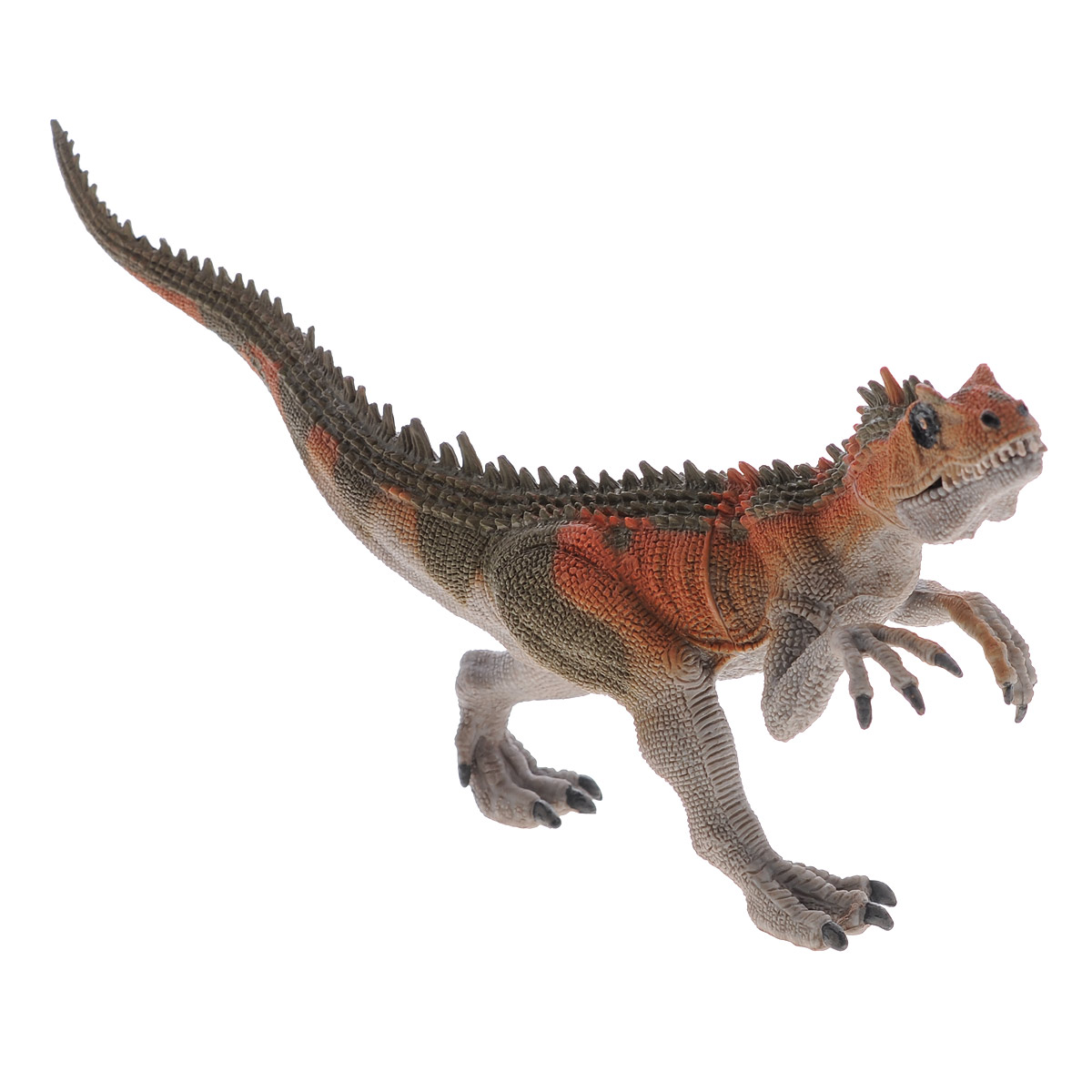 цена на Фигурка Megasaurs Заурофагнакс с двигающейся пастью, цвет: серый
