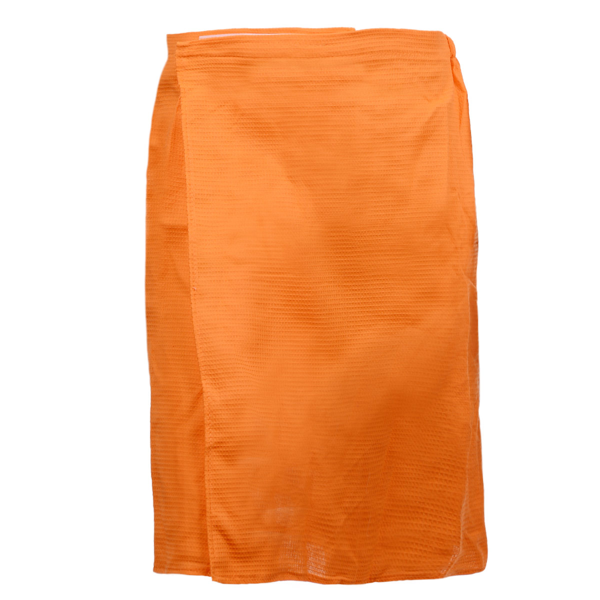 Килт для бани и сауны Банные штучки, мужской, цвет: оранжевый килт махровый фиолетовый