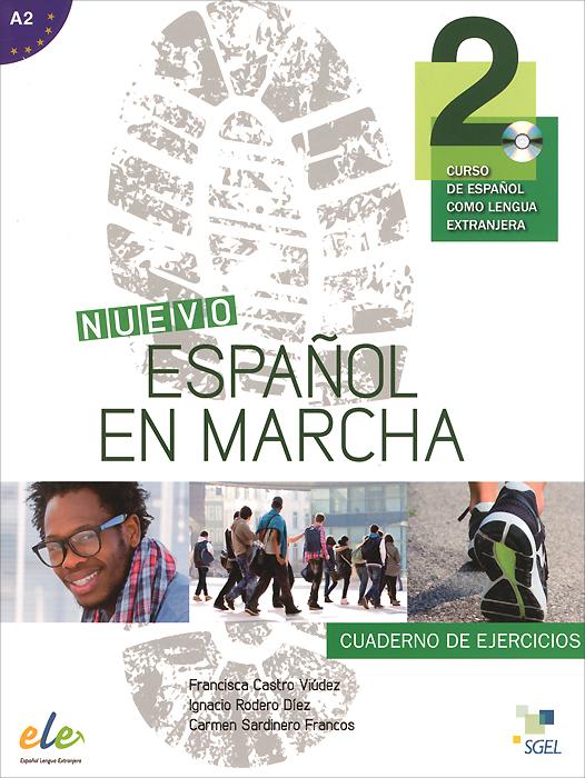 Nuevo espanol en marcha 2: Nivel A2: Cuaderno de ejercicios (+ CD) цена и фото