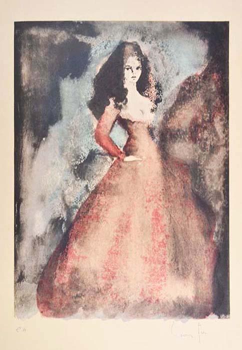 Цветная литография Брижит Бардо. Леонор Фини (Leonor Fini). Франция, 1970-е гг шампунь леонор