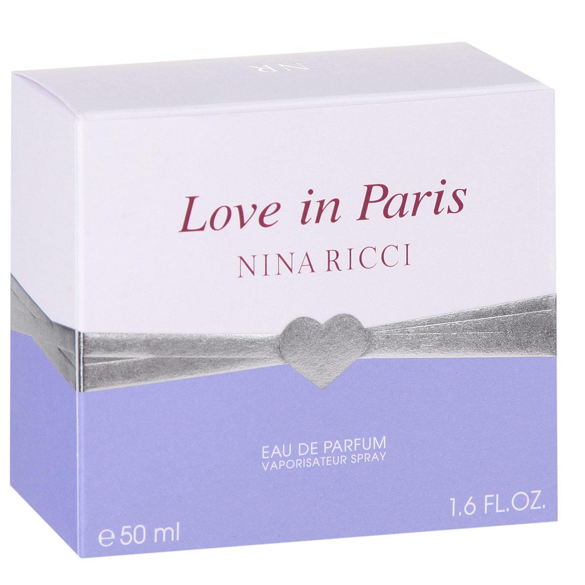 Nina Ricci Love In Paris 50мл Nina Ricci