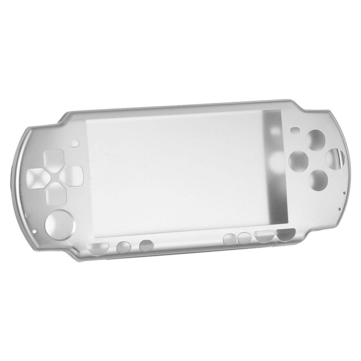 Алюминиевый защитный корпус Game Guru для Sony PSP 2000/3000 (серебряный) чехольчик ремешок game guru для sony psp 2000 3000 золотой