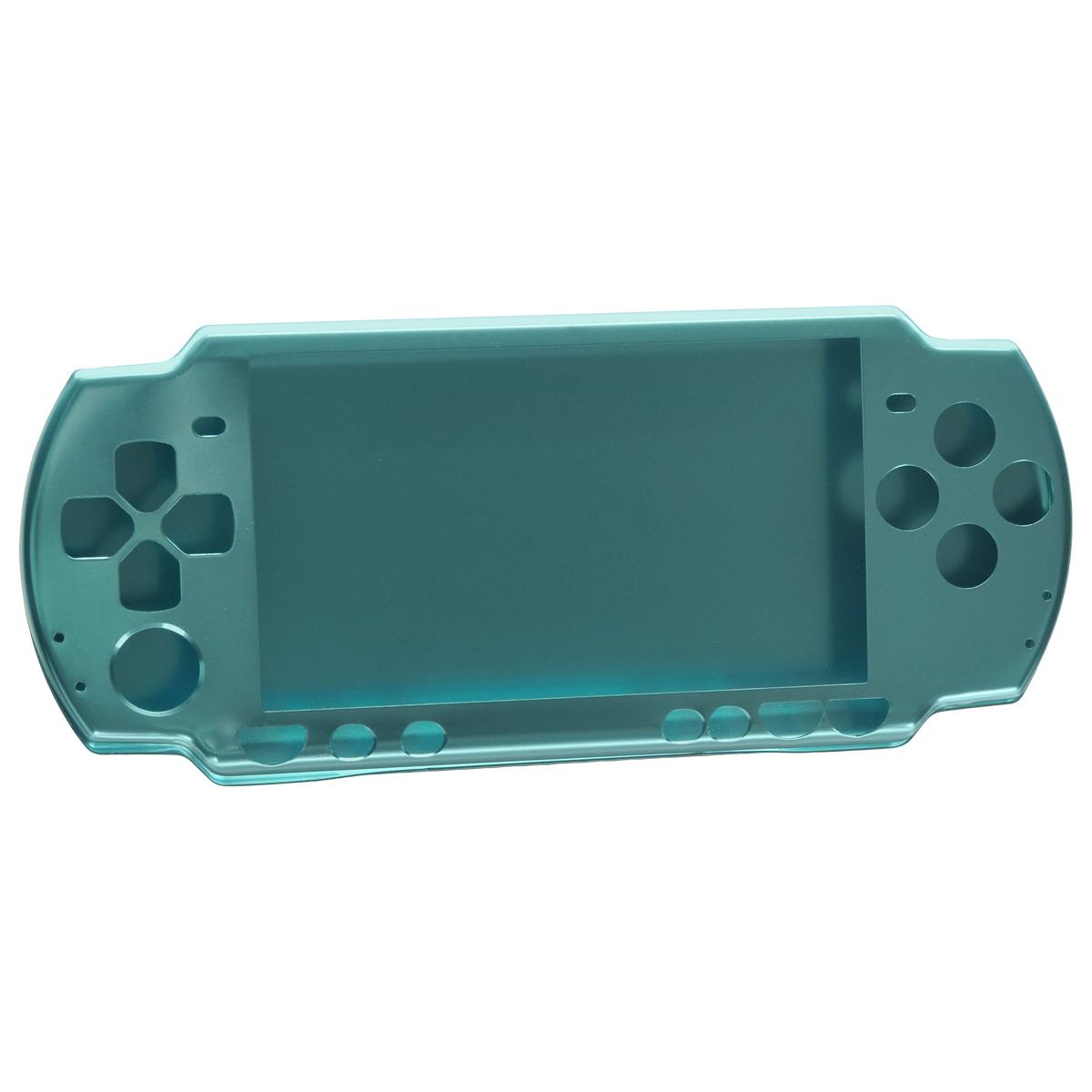 Алюминиевый защитный корпус Game Guru для Sony PSP 2000/3000 (голубой) чехольчик ремешок game guru для sony psp 2000 3000 золотой
