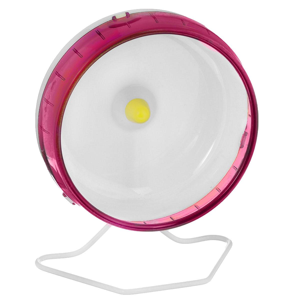 """Колесо для грызунов """"I.P.T.S."""", цвет: красный, белый, диаметр 16,5 см"""