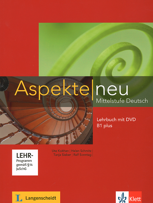Aspekte Mittelstufe Deutsch: Lerbuch B1 plus (+ DVD) aspekte neu arbeitsbuch b1 plus mittelstufe deutsch аудиокнига cd