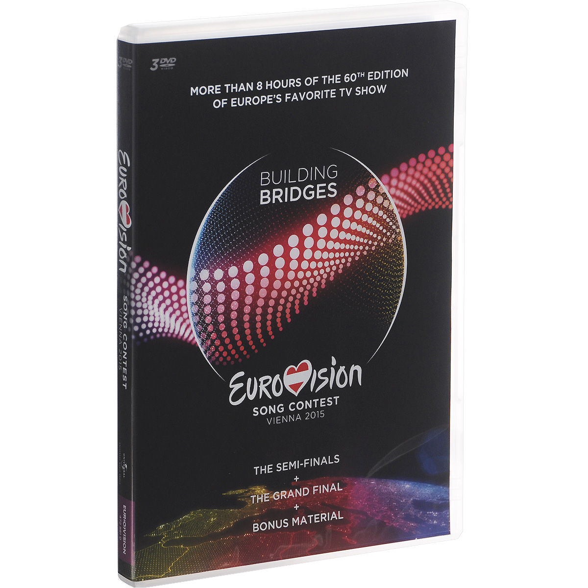 Eurovision: Song Contest Vienna 2015 (3 DVD)