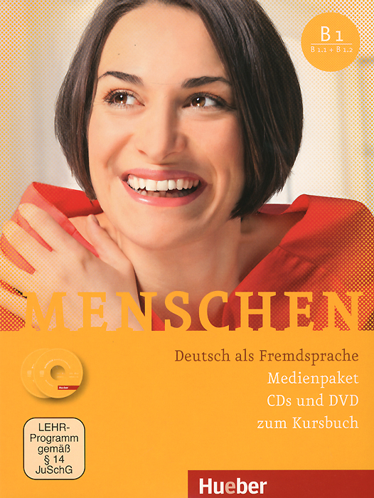 Menschen: Deutsch als Fremdsprache (комплект из 3 CD + DVD) burger e optimal b1 lehrwerk fur deutsch als fremdsprache lehrerhandbuch cd rom