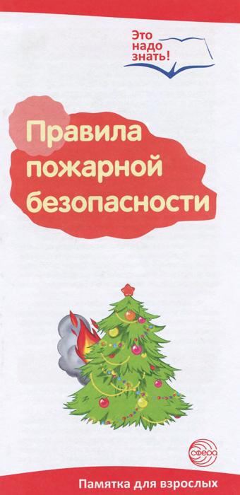 Т. В. Цветкова Правила пожарной безопасности. Памятка для взрослых памятка для туриста это