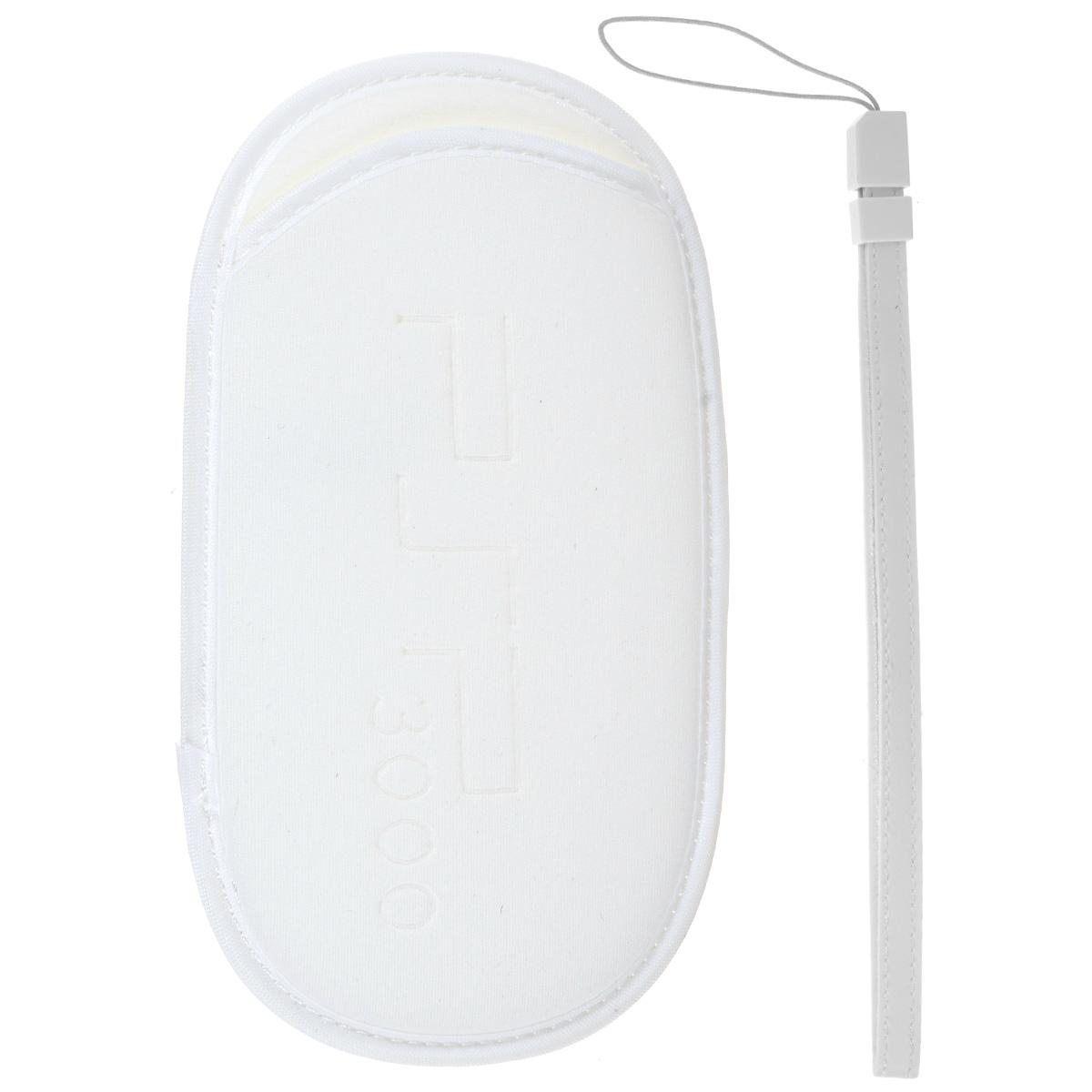 Чехольчик + ремешок Game Guru для Sony PSP 2000/3000 (белый) чехольчик ремешок game guru для sony psp 2000 3000 золотой