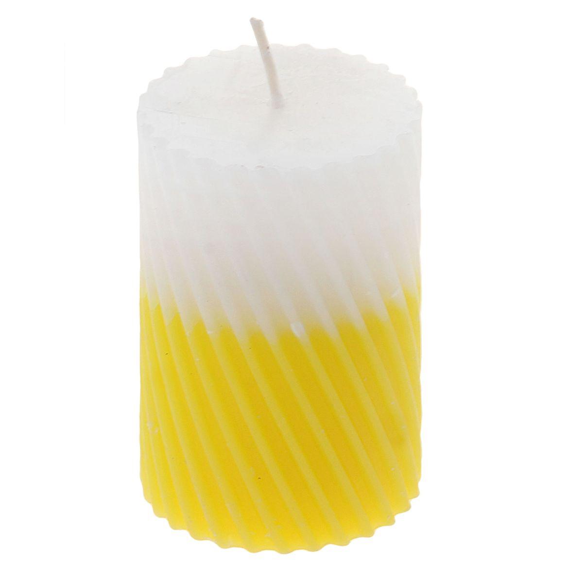 Свеча ароматизированная Sima-land Лимон, высота 7,5 см. 849539