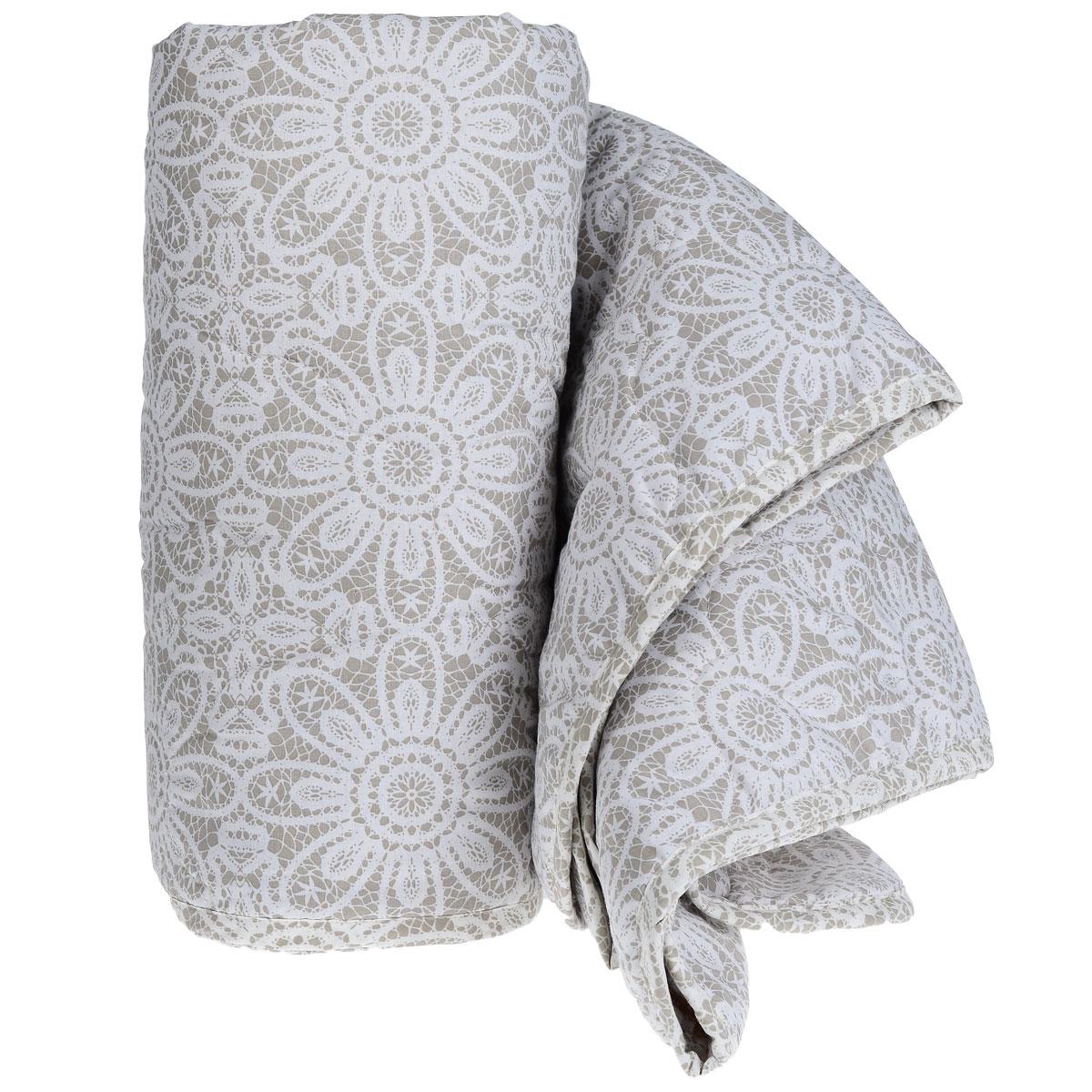 """Одеяло летнее """"Green Line"""", наполнитель: льняное волокно, 140 см х 205 см"""