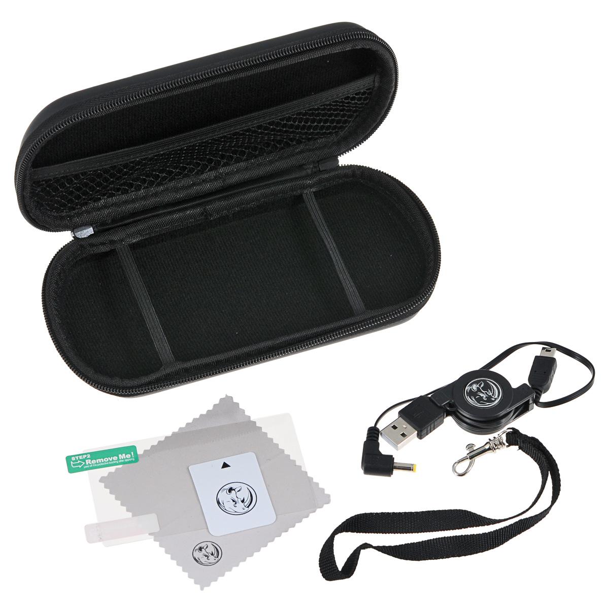 Black Horns Kit 5 in 1 набор аксессуаров для Sony PSP E1000/2000/3000 разветвитель usb black horns для ps4