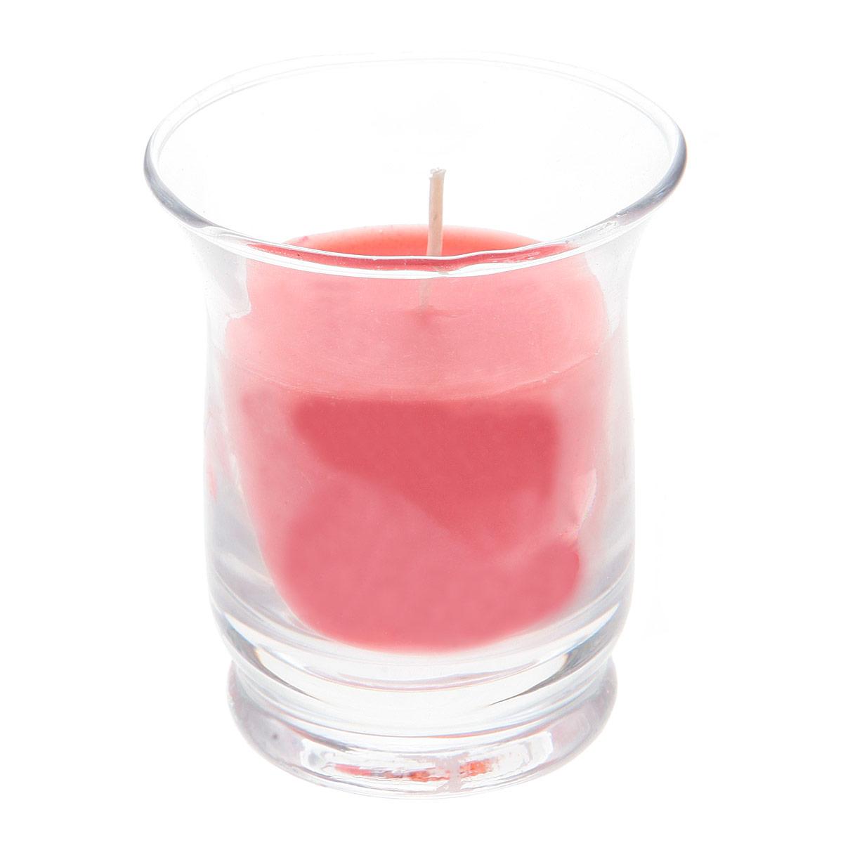 Свеча ароматизированная Sima-land Клубника, высота 7 см свеча ароматизированная sima land корица высота 7 5 см 849544