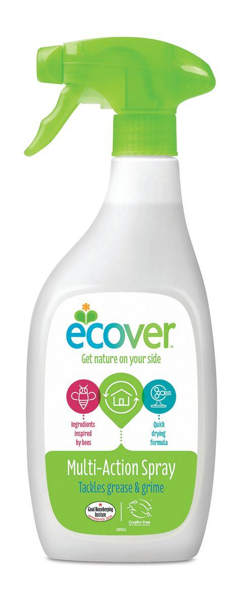 Экологический спрей Ecover для чистки любых поверхностей, 500 мл экологический суперочищающий спрей ecover универсальный 500 мл