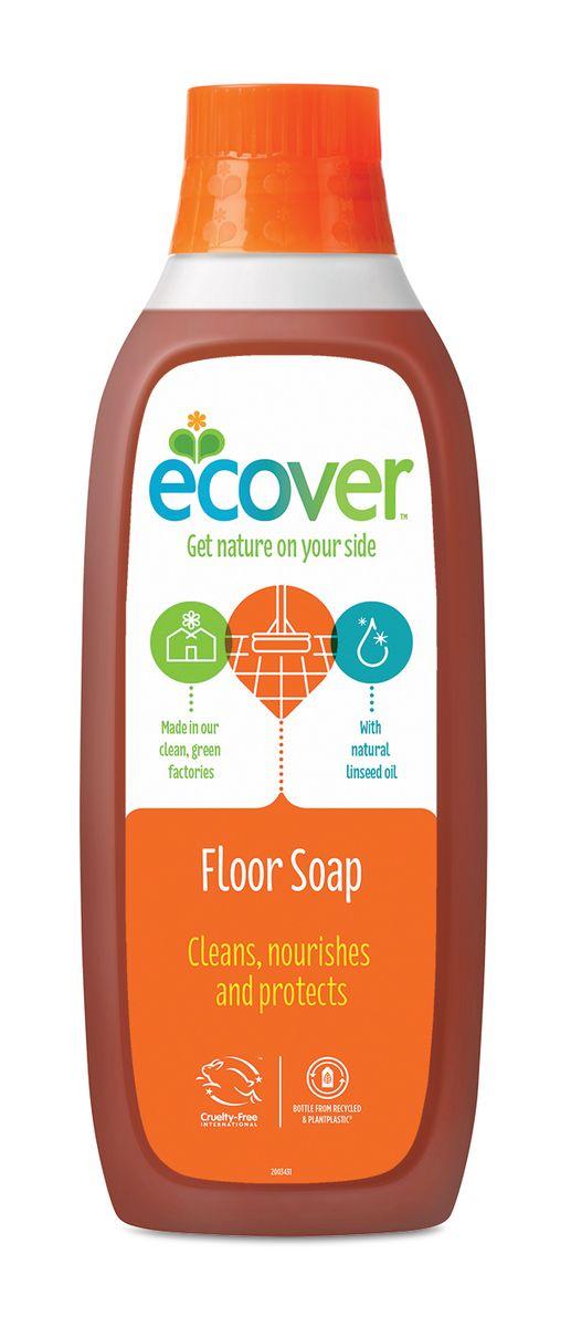 Жидкий концентрат для мытья пола Ecover, с льняным маслом, 1 л